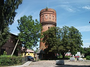 Bagrationovsky District - Water Tower, Mamonovo, Bagrationovsky District