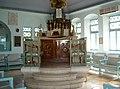 הבמה בבית הכנסת הספרדי הגדול בימין משה.JPG