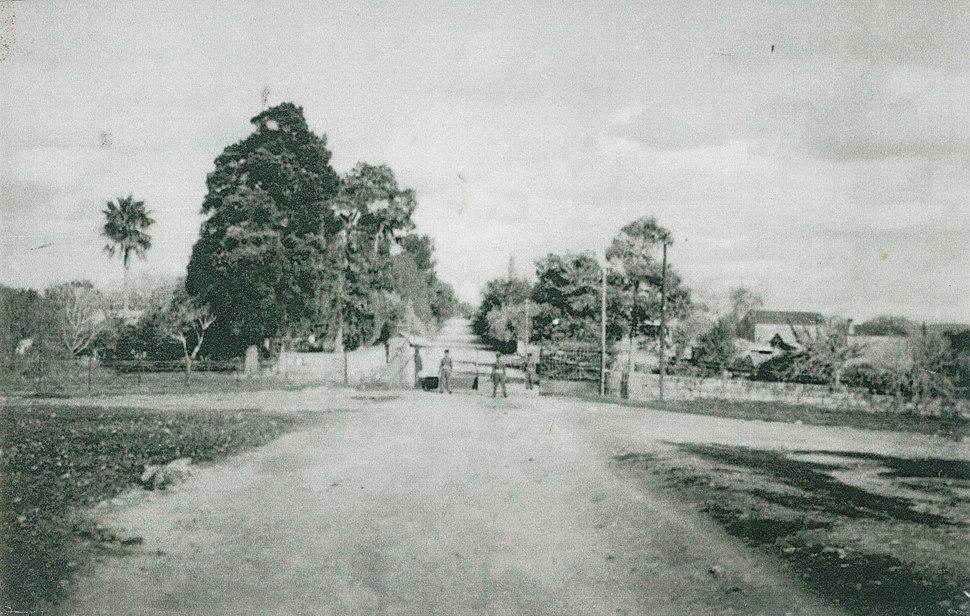 הכניסה למושב 1947