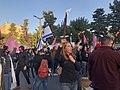 הפגנת מחאה מול הווילון השחור בבכניסה לבית ראש הממשלה בבלפור שבת אחר הצהריים 26 בדצמבר 2020 (10).jpg