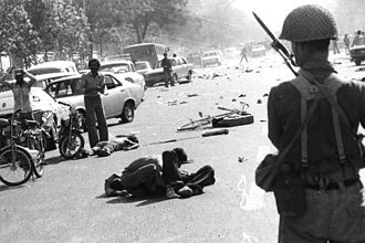 Human rights in Iran - Killed protesters by Shah's regime in Black Friday, 1978