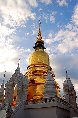 Wat Suan Dok - Chedi, Wat Suan Dok, 2009