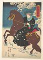 「亞墨利加」-America- A Woman on Horseback in the Snow MET DP147998.jpg