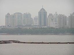 Songhuafloden i Harbin