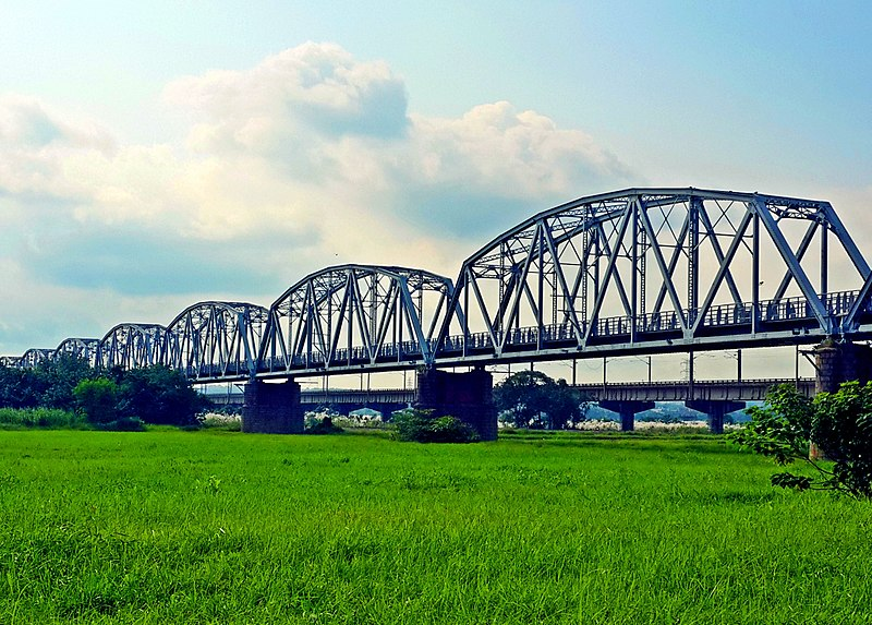 屏東打卡景點-下淡水溪鐵橋(高屏舊鐵橋)
