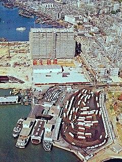 Jordan Road Ferry Pier former pier in Hong Kong