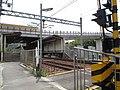 神戸電鉄 木津駅と勝田踏切道 - panoramio.jpg