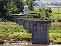 穏城大橋対岸の北朝鮮国境警備兵.jpg