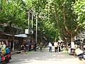 街头菜市场:方便、亲近 Vegetables in the street provide not only convenience but also communication between neighbors - panoramio.jpg