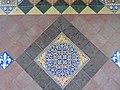-2018-12-10 Mosaic floor, Saint Margaret of Antioch parish church, Suffield, Norfolk (1).JPG