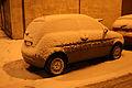 - 01 ITALY Lancia Ypsilon in snow in Milan.JPG