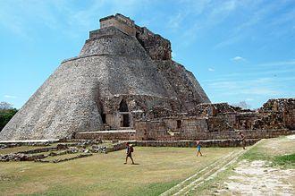 Pyramid of the Magician - Pyramid of the Magician, Uxmal, Mexico. March 2007