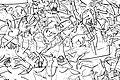 02010 Naval battle of Delta, peuples de la mer, Tempel Nordostwand.jpg