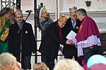 02018 0475 Umzug Heilige Drei Könige in Sanok, Politiker der Regierungspartei Recht und Gerechtigkeit, Pioro, Uruski.jpg