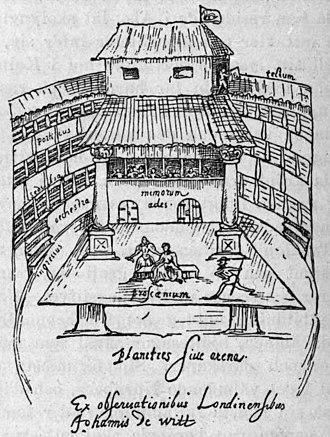 1682 in Sweden - Dän Swänska Theatren