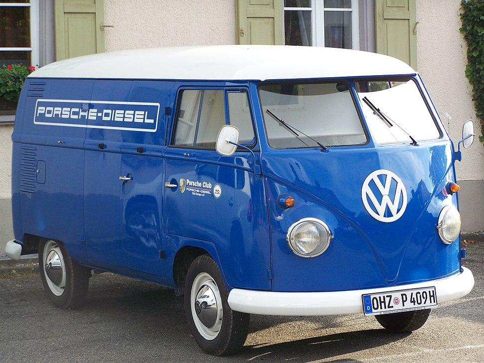 0385 Porsche Diesel Bus blau