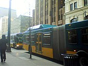 Metro Buses in Seattle, Washington