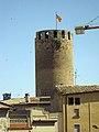 040 La torre del Castell des del Museu de Joguets i Autòmats.jpg