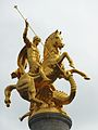 070 Tbilissi Place de la liberté La statue de saint Georges.JPG