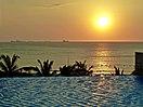 Puesta de sol en Irotama Resort.