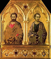 Ugolino di Nerio: Saint Simon and Saint Thaddeus (Jude)