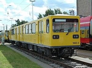BVG Class G - Class G in Henningsdorf