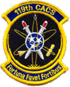 119th Command and Control Squadron - 119th Command and Control Squadron emblem