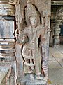11th century Panchalingeshwara temples group, Kalyani Chalukya, Sedam Karnataka India - 55.jpg