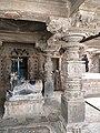 11th century Panchalingeshwara temples group, Kalyani Chalukya, Sedam Karnataka India - 98.jpg