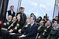 12.25 副總統和政務委員唐鳳(左三)等人一同出席「亞洲・矽谷計畫執行中心揭牌典禮」 (31708590162).jpg
