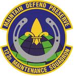 123 Maintenance Sq emblem.png
