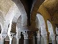 125 Sant Miquel de Terrassa, capitells de les columnes que sostenen la cúpula.JPG