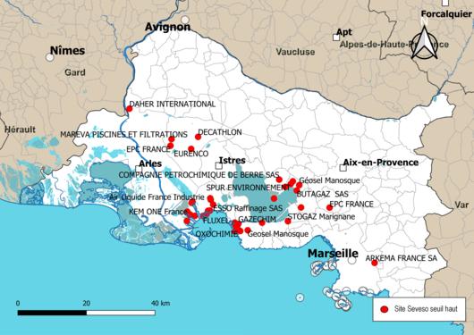Risque Industriel Dans Les Bouches Du Rhône Wikipédia