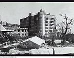 131781 ONE OF THE FEW LARGE BUILDINGS WHICH SURVIVED THE ATOMIC BLAST, BUT WAS COMPLETELY GUTTED BY THE RESULTING FIRES..JPG
