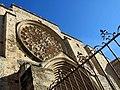 134 Monestir de Sant Cugat del Vallès, façana oest.JPG