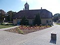 13 Templom Platz und Kirchturm, 2020 Piliscsaba.jpg