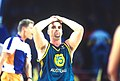 141100 - Wheelchair basketball Brad Ness disappointed - 3b - 2000 Sydney match photo.jpg