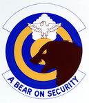146 Weapons system Security Flight (later 146 Security Forces Sq) emblem.png