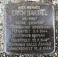 15.8.2018 Stolperstein von Erich Barthel Auerbach Vogtl. Falkensteiner Str. 40.JPG