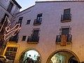 165 Can Rinsa (Arbúcies), façana de la pl. de les Olles.jpg