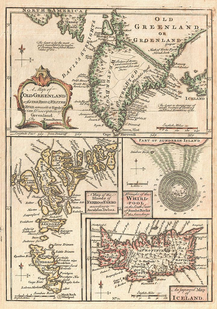 File1747 bowen map of the north atlantic islands greenland file1747 bowen map of the north atlantic islands greenland iceland faroe islands maelstrom geographicus oldgreenland bowen 1747g publicscrutiny Gallery