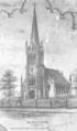 1852 Central Church Lynn Massachusetts map detail by McIntyre BPL 1285.png