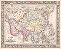 1864 Mitchell Map of Asia - Geographicus - Asia-mitchell-1864.jpg