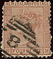 1874ca 4d maroon New Zealand oval8 Yv55 Mi47D SG155.jpg