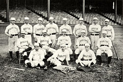 The 1888 Boston Beaneaters Team
