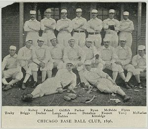1896 Chicago Colts season - Image: 1896 Chicago Colts