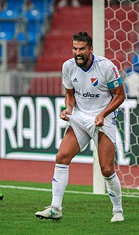Milan Baroš v dresu FC Baník Ostrava (2017) ccb7c63901