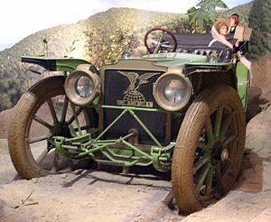 American Underslung - 1911 American Underslung in the Petersen Automotive Museum