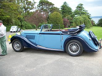 Tickford - Image: 1938 MG SA Tickford Drop Head Coupe
