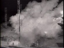 File:1958-02-06 Vanguard Fails in Second Launching.ogv